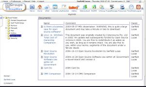DEOSS Groups screengrab