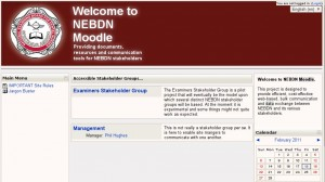 NEBDN Stakeholders Moodle site